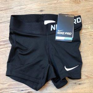 NWT Nike Girls Dri-Fit Pro Compression Boy Shorts